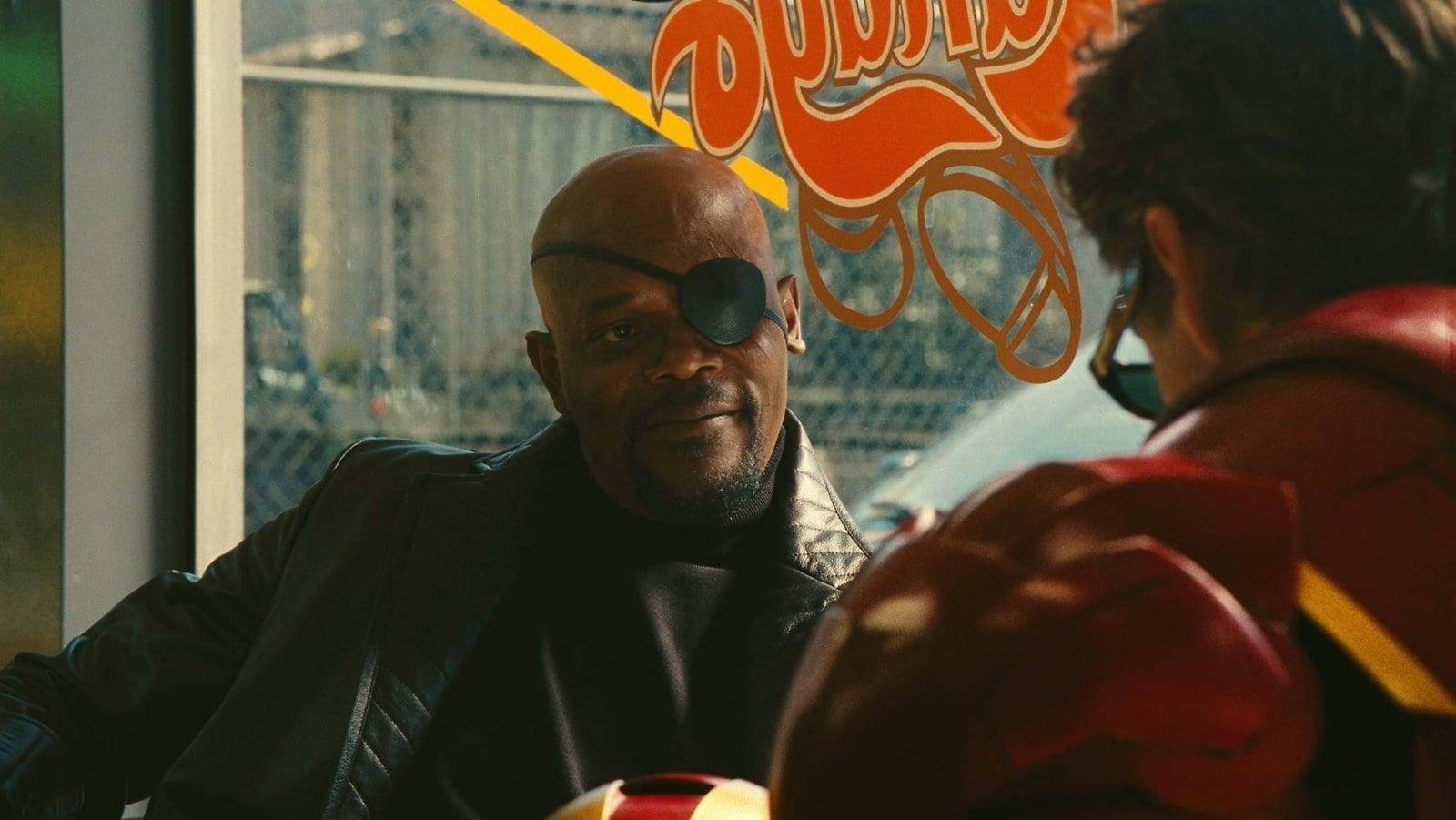 Alternate Iron Man Post-Credits Scene Nick Fury and Tony Stark