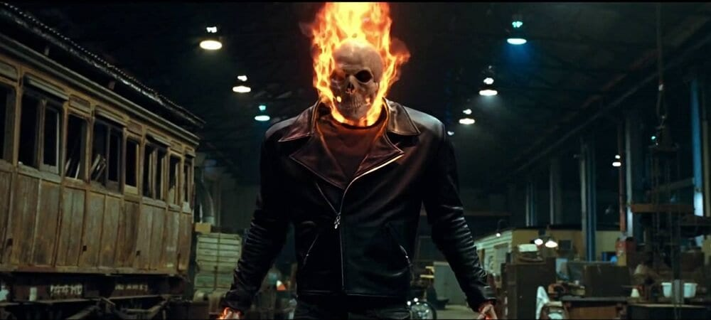 ghost rider live-action series