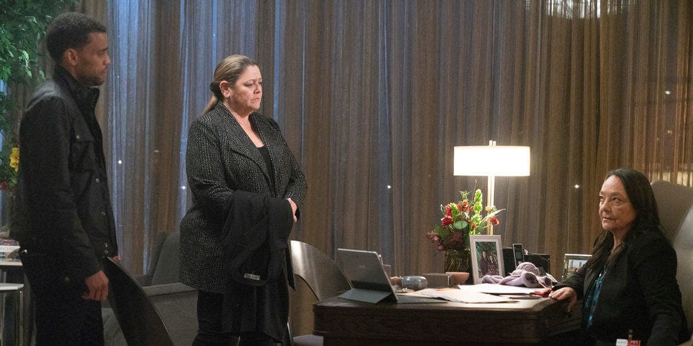 Michael Ealy, Camryn Manheim, and Tantoo Cardinal on Stumptown series premiere review