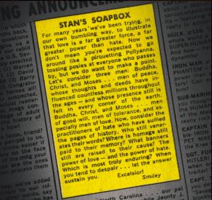 Stan's Soap Box