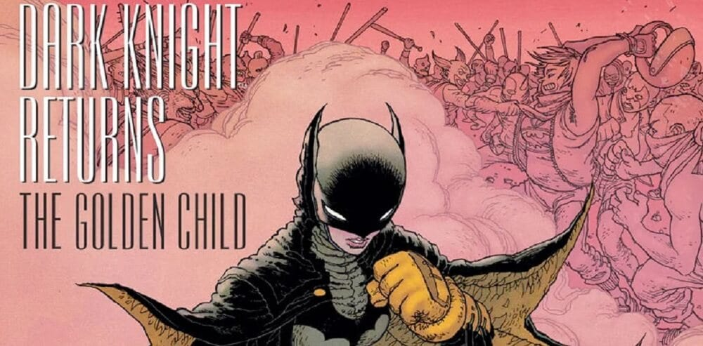 The Dark Knight REturns The Golden Child Comic 1