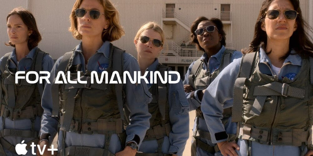 The women in the For All Mankind trailer.
