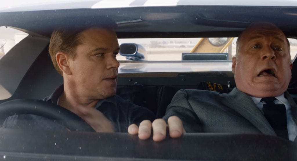 Matt Damon, Ford v Ferrari