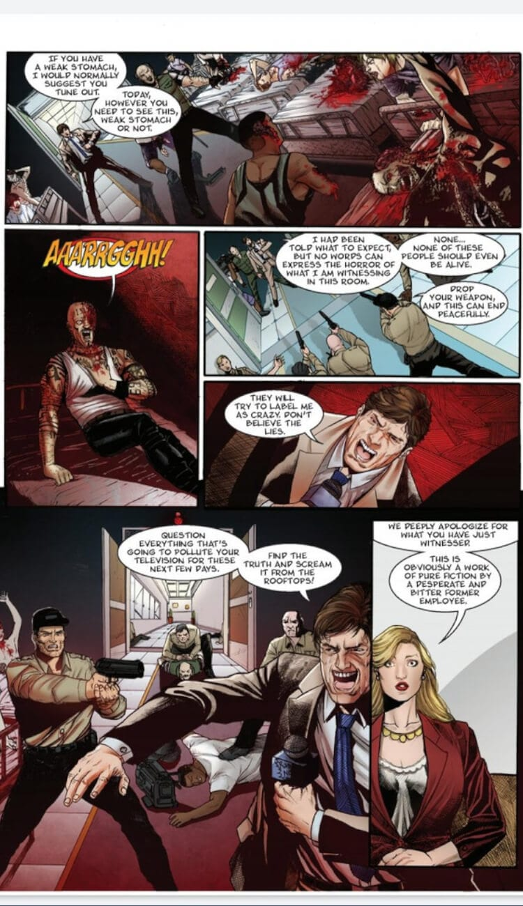 In image from issue #1 of 'Immortal Era'.