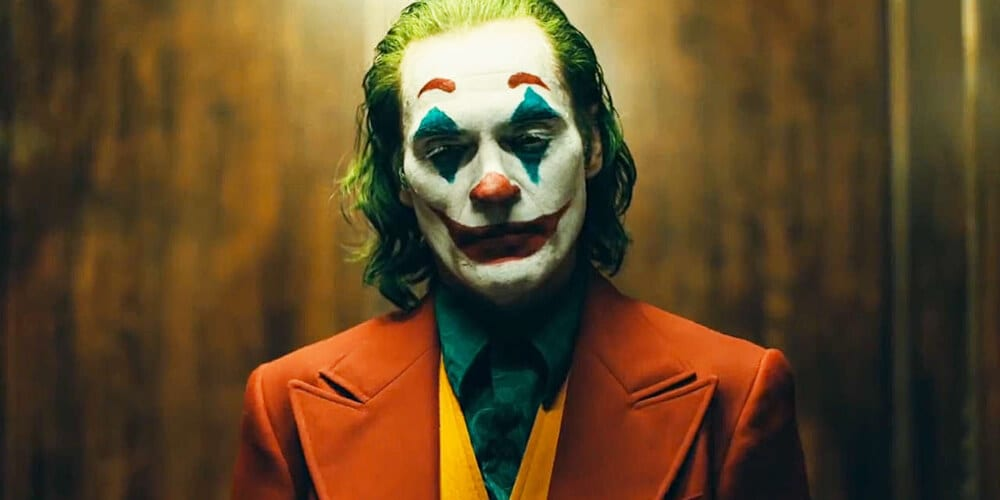 An image of Joaquin Phoenix from 'Joker'.