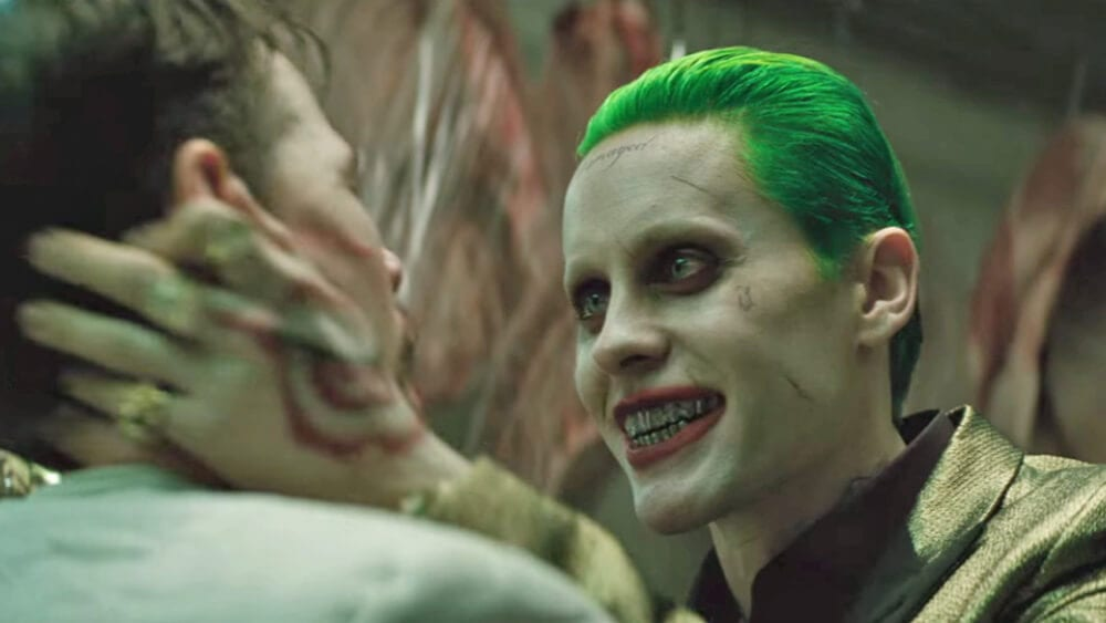 Leto as the Joker