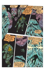 Parliament of Trees Swamp Thing
