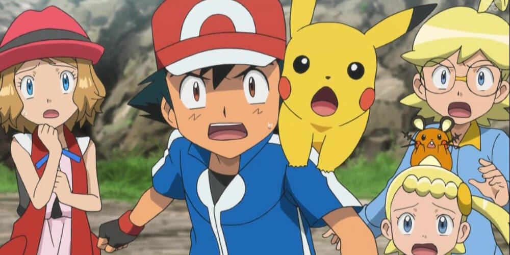 An image from Pokemon Anime.
