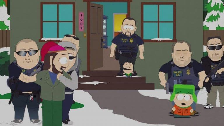 South Park Premiere ICE raid