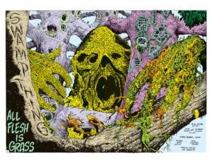 Alan Moore Saga of the Swamp Thing Sci-Fi Vertigo Horror