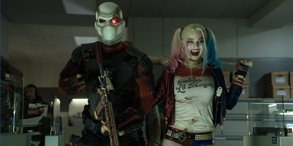 An image of Will Smith and Margot Robbie in 'Suicide Squad'.