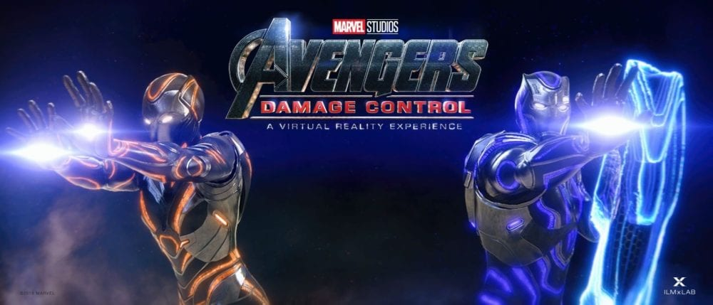 avengers vr fan experience damage control