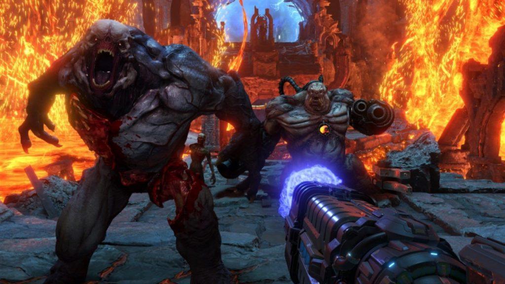 doom eternal delayed in-game view