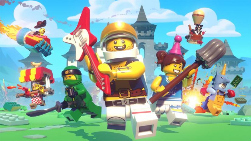Apple Arcade multiplayer games lego brawl