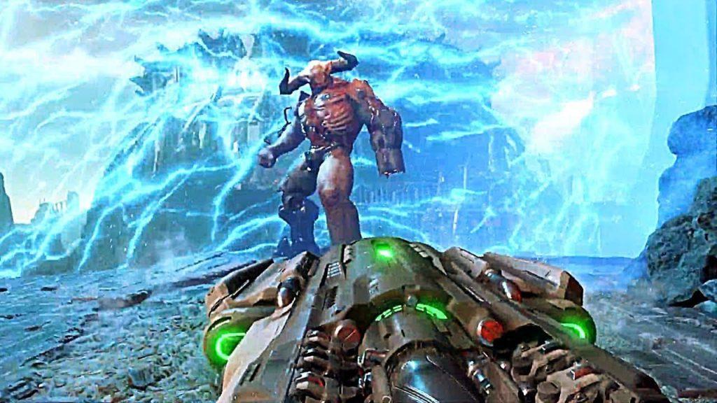 doom eternal delayed game footage