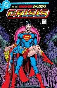 Superman, Supergirl, Supergirl Death, Crisis on Infinite Earths #7