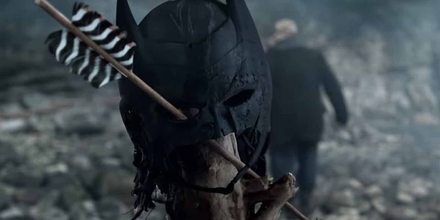 Arrow Season 8 Premiere Bat Mask Island