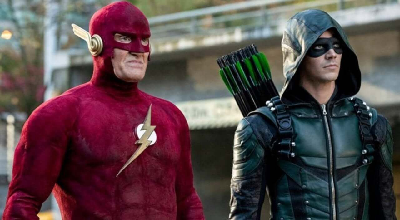 CW's Arrowverse Shows Actors John Wesley Shipp Flash Grant Gustin Arrow