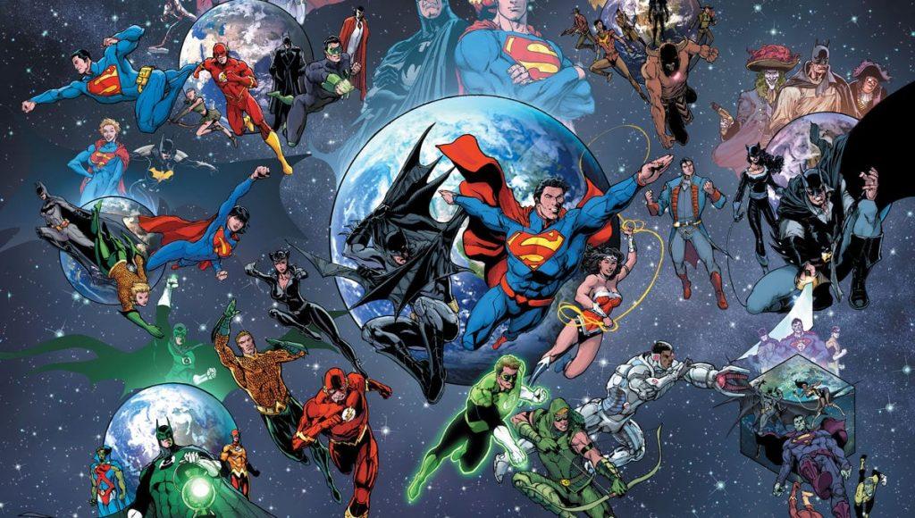 DC Comics Convergence, Superman, Batman, Multiverse, Earth-0, Braniac, DC Comics quibi slugfest
