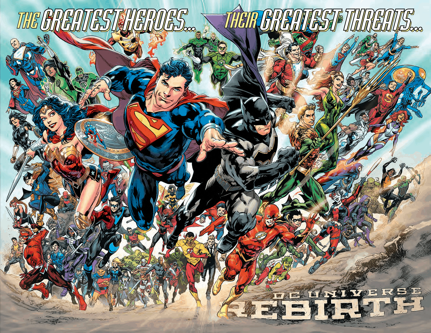 DC Comics Decade Events