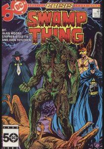 Swamp Thing, Alan Moore, Crisis on Infinite Earths