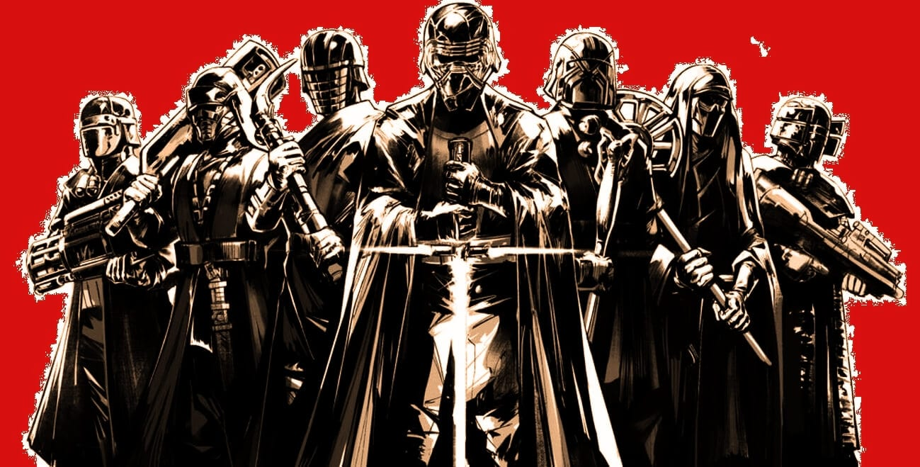Kylo Ren and the Knights of Ren Comic 1
