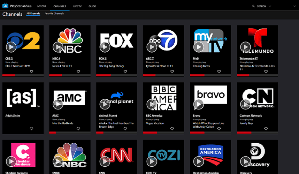 PLayStation Vue Shut down January 2020 Apps
