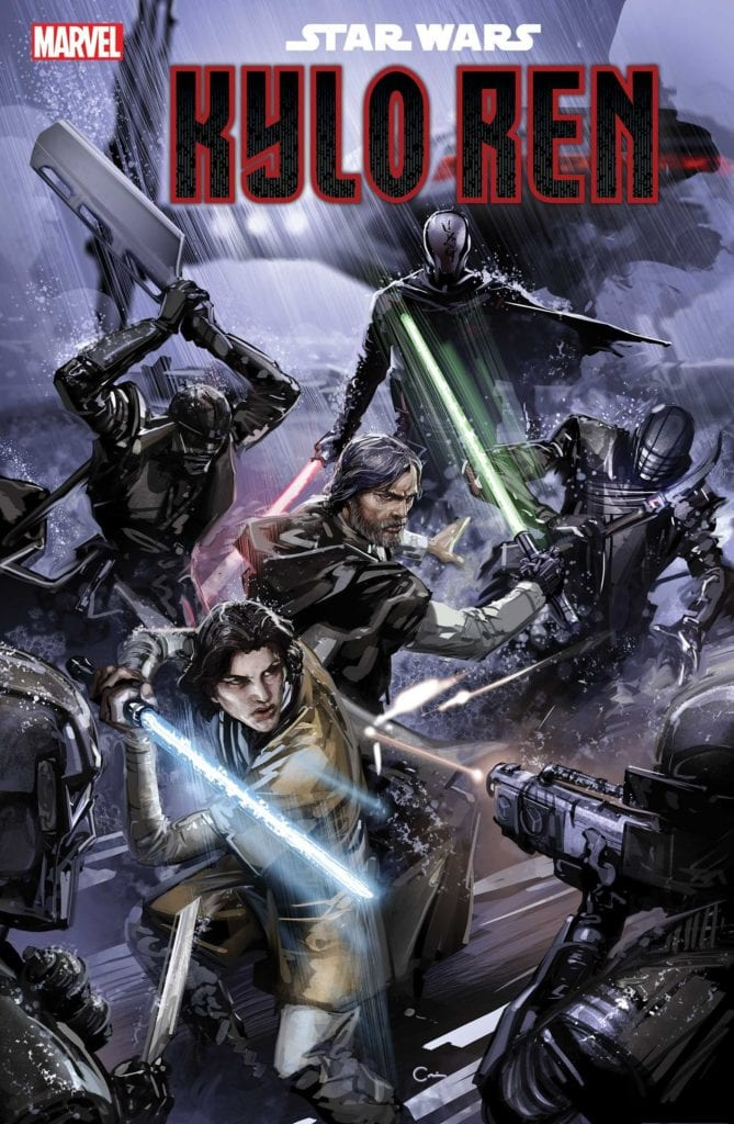Rise of Kylo Ren and the Knights of Ren Cover