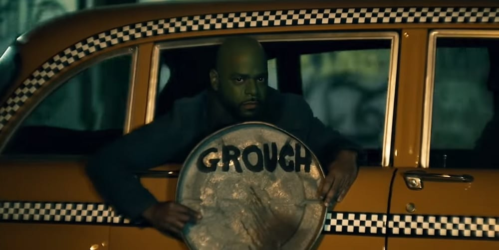 SNL Joker Parody Grouch David Harbour Taxi