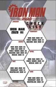 Iron Man 2020 Launch Schedule