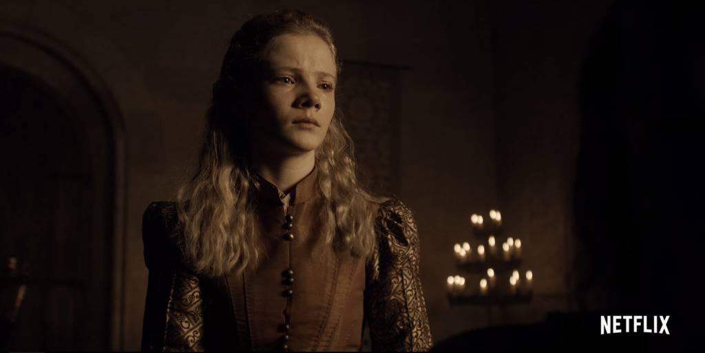 Freya Allen as Ciri in The Witcher on Netflix
