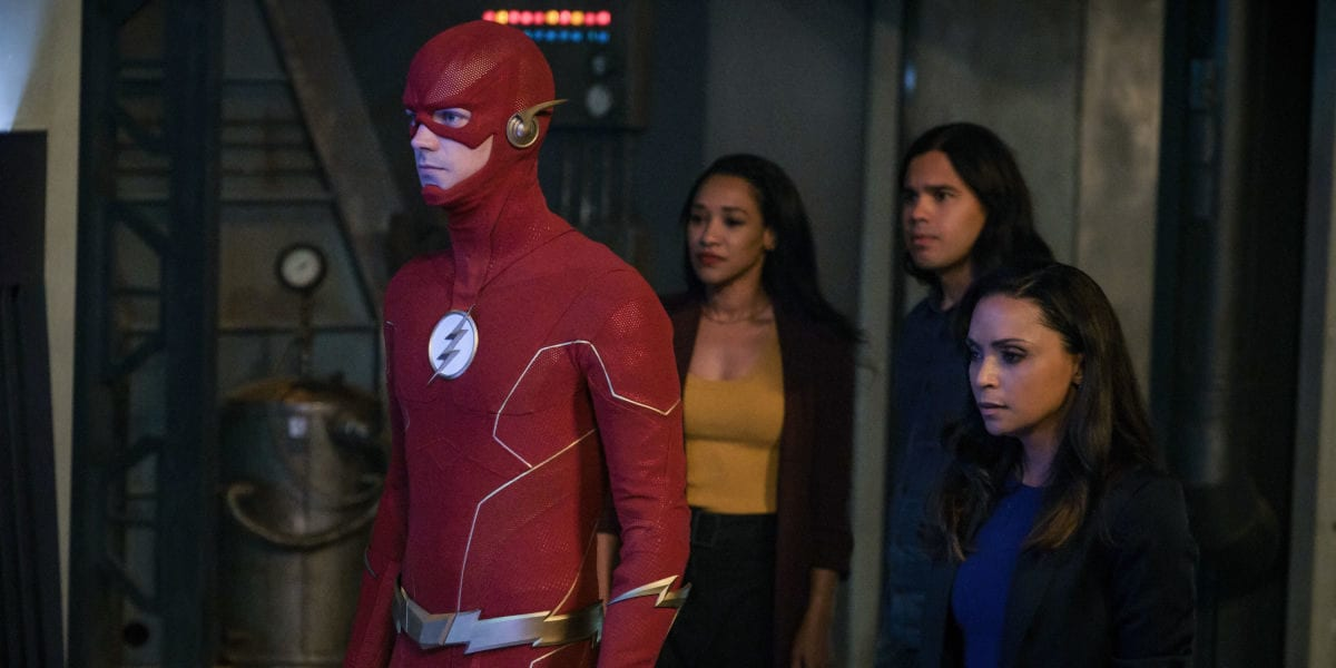 The Flash Season 6 premiere featured CW Social Media Comment Policy Candice Patton