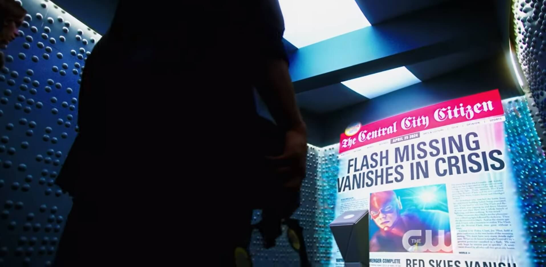 The Flash Season 6 trailer Missing Vanishes in Crisis Headline Flash 2024 The Flash season six trailer The Flash Sixth Season Trailer