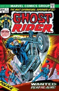 Johnny Blaze Ghost Rider