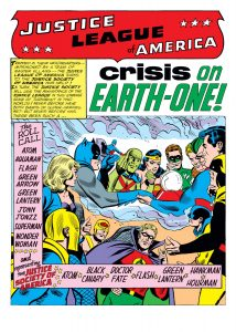 Crisis on Earth-One, Justice League of America, DC Comics