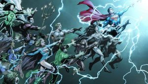 DC Rebirth, DC Comics, Batman, Flash, Dr. Manhattan, Watchmen