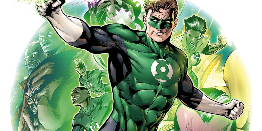 Green Lantern from DC Comics
