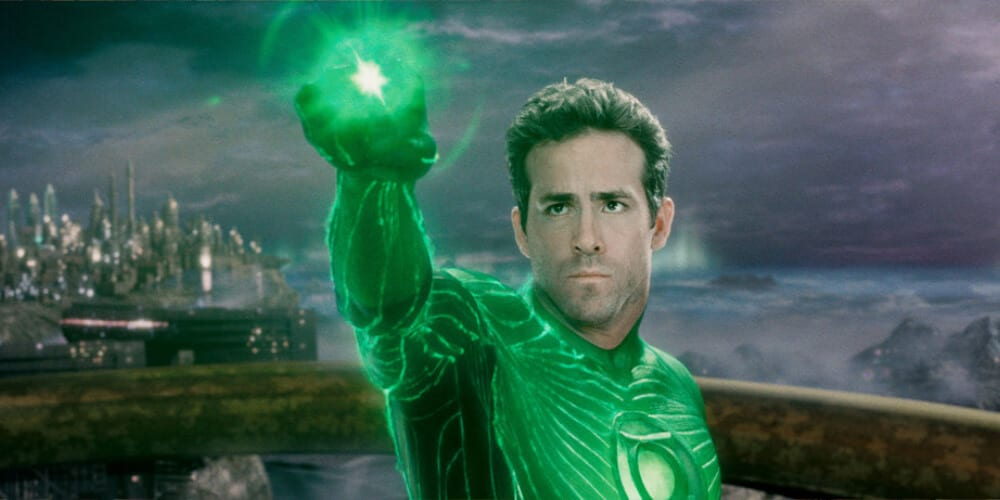 Ryan Reynolds as live-action Green Lantern