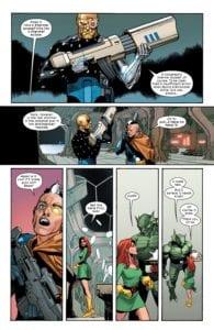 Cable, Jean Grey, Starjammers, X-Men, Hickamn