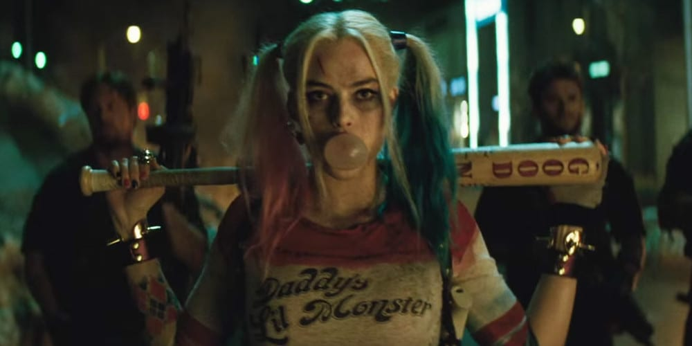 Margot Robbie as Harley Quinn in Sucide Squad.