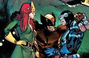 Jean Grey, Wolverine, Cyclops, Romance, Polyamorous