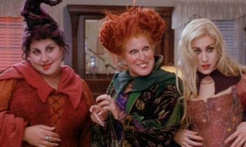 The Sanderson Sisters Officially Join Cast for Hocus Pocus Sequel