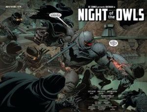 Batman Night of the Owls, Batman, Scott Snyder, DC Comics