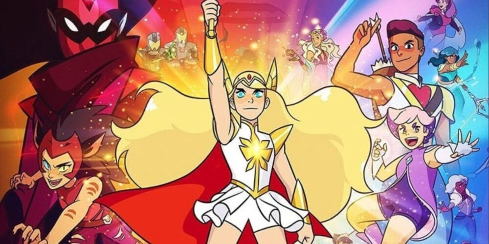 She-Ra And The Princesses Of Power poster.