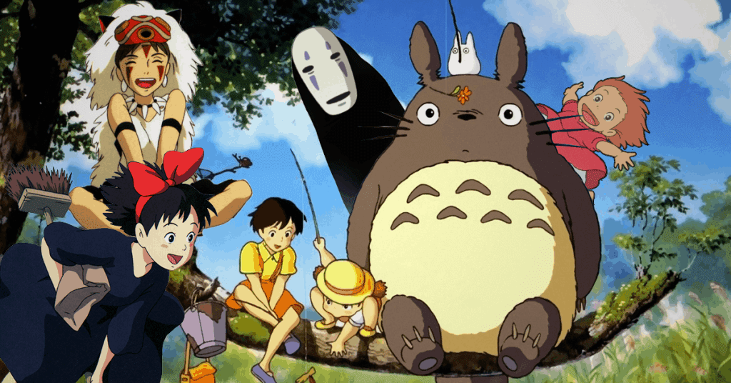 All the Studio Ghibli characters.