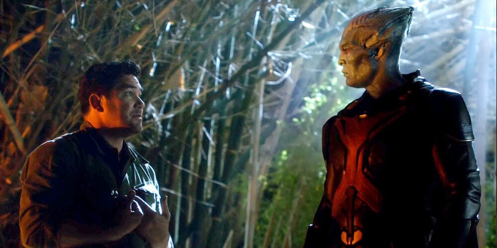 Dean Cain in The CW's Arrowverse show Supergirl.