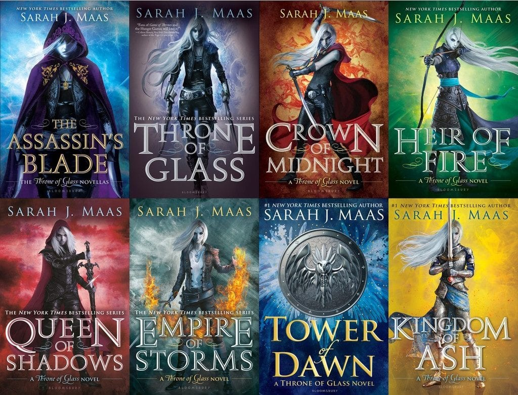 Top 10 Fantasy Series of the Decade Throne of Glass