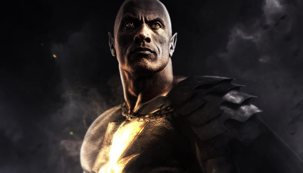 Black Adam Movie Release Date Concept Art Fan Made via Reddit