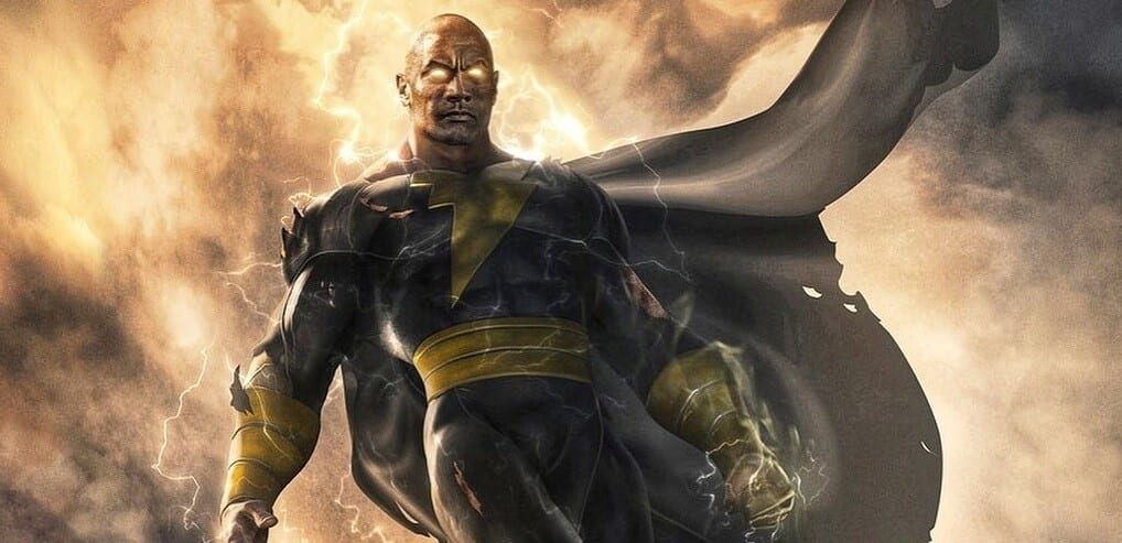 Black Adam Movie Release Date Concept Art