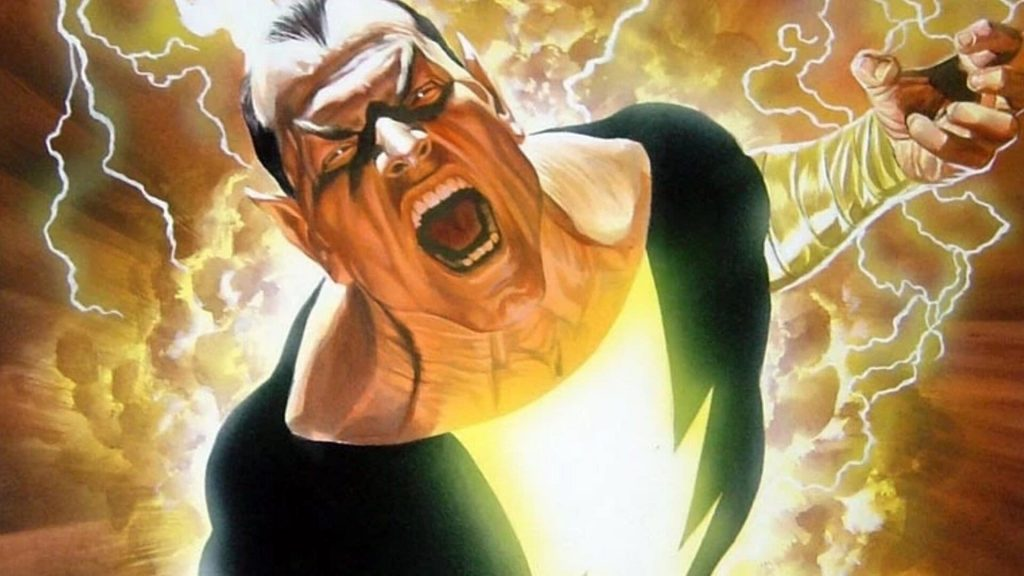 Black Adam Movie Release Date DC Image Alex Ross